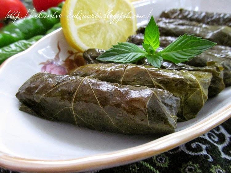 Турецкий долма рецепт с фото