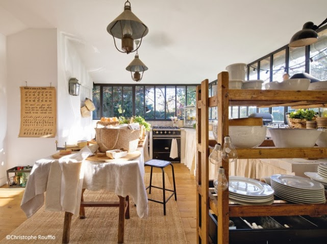 Dep sito santa mariah casa antiga no sub rbio de paris - Idee deco cuisine campagne ...