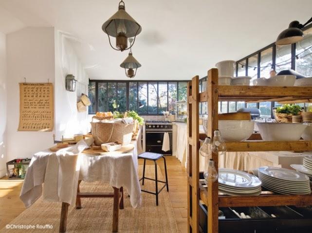Dep sito santa mariah casa antiga no sub rbio de paris - Deco cuisine campagne ...