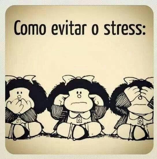 Só a inteligencia pode evitar momentos de stress