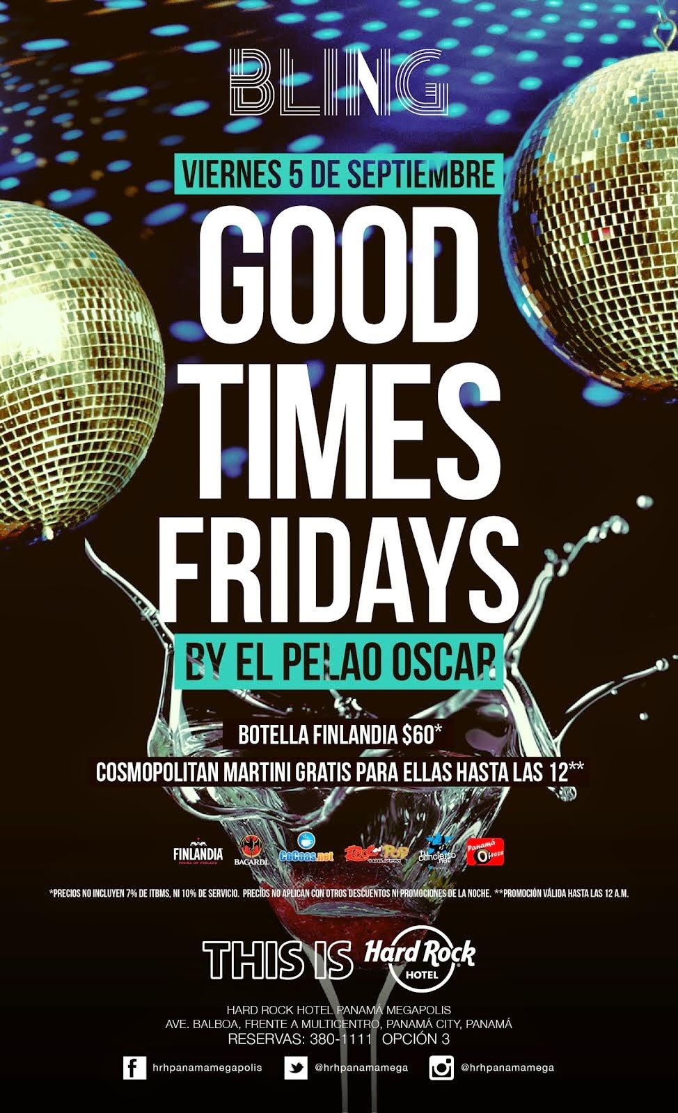 Good Time Fridays - BLING