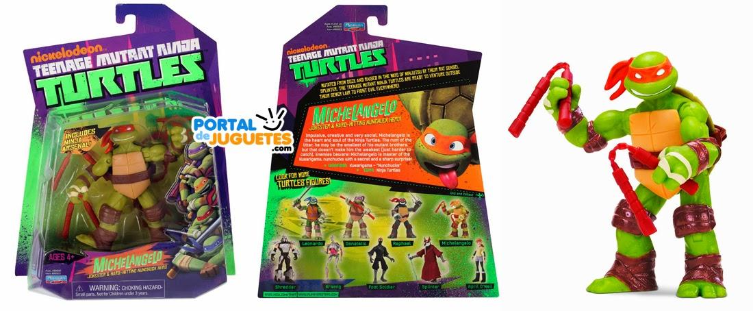 figura michelangelo tortuga ninja playmates toys