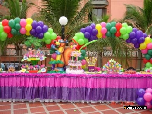 Ricas y hermosas tortas for Decoracion fiestas tematicas