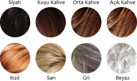 2012-2013 Saç Boyası Renkleri Kataloğu