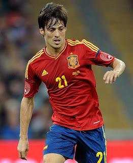 David Silva Euro 2012