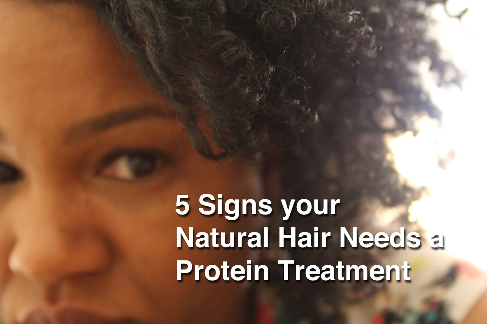 www.curlyincolorado.com natural hair protein treatment