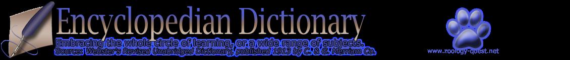 Encyclopedian Dictionary ( Ceratium Longipes )