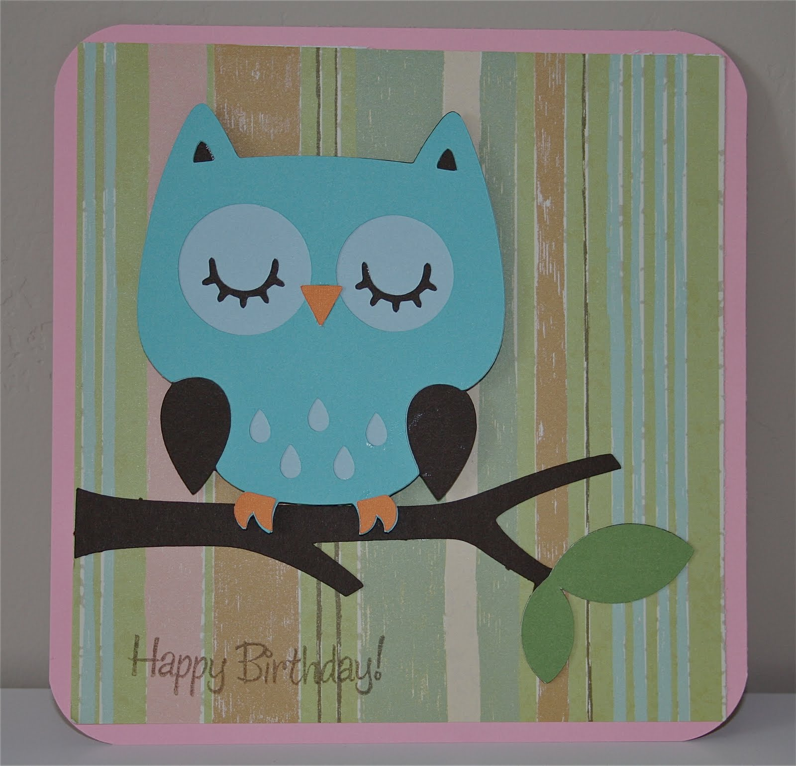 Amazing Card Making Ideas Owls Part - 9: Cricut Crazy