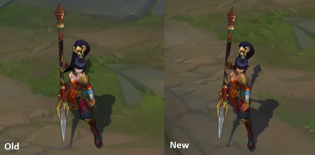 All New Visual Effects (VFX) Update Riven, Kennen, Olaf