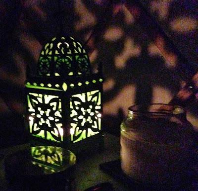 Acorn Glade - glamping in Yorkshire, Daisy Yurt lanterns