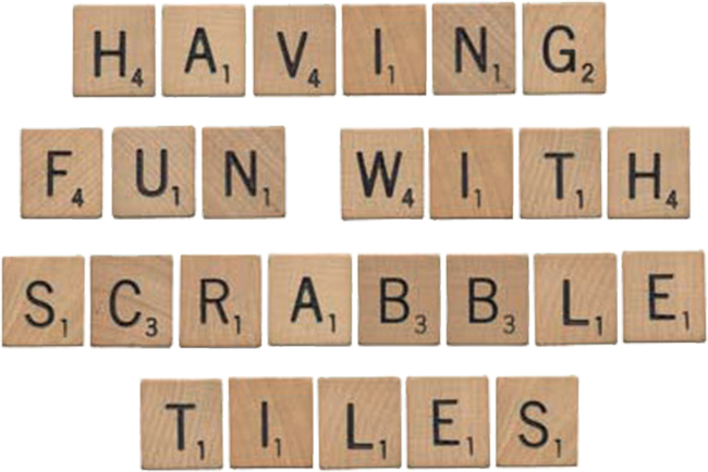 Go Back > Gallery For > Scrabble Letters Printable