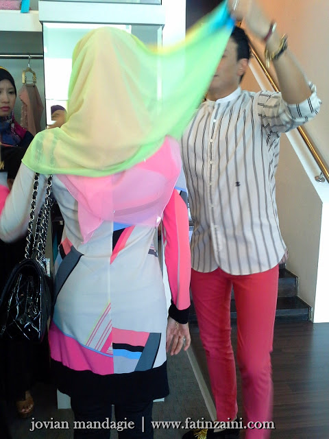 Jovian, boutique, designer, hijabista, hanis haizi