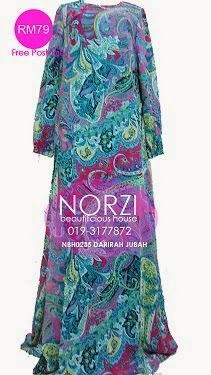 NBH0235 DARIRAH JUBAH (MATERNITY FRIENDLY)