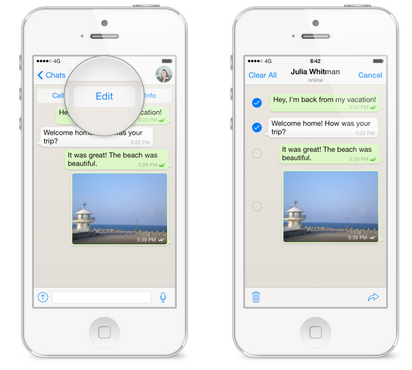 how to leave a group chat on iphone notification