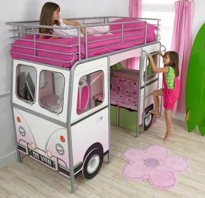Cama muy original para niños y niñas ~ Decoracion de salones