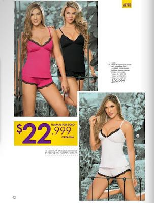 pijamas para mujer 8-15