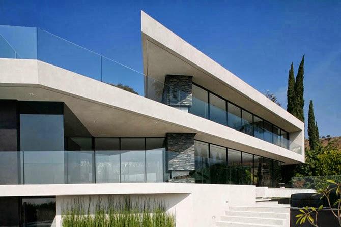 Openhouse una villa moderna e minimalista tra le colline for Piani di architettura domestica moderna