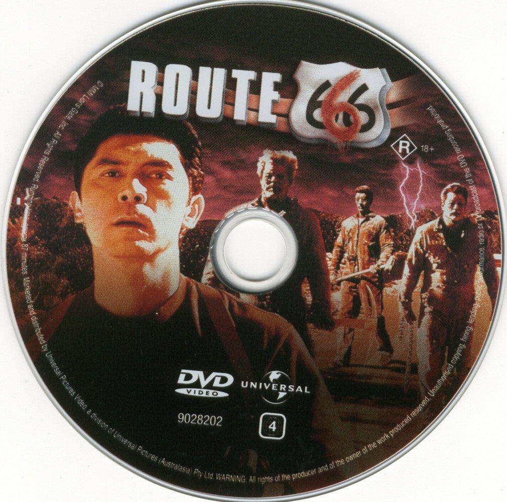 Label DVD Rota 666 A Estrada da Morte