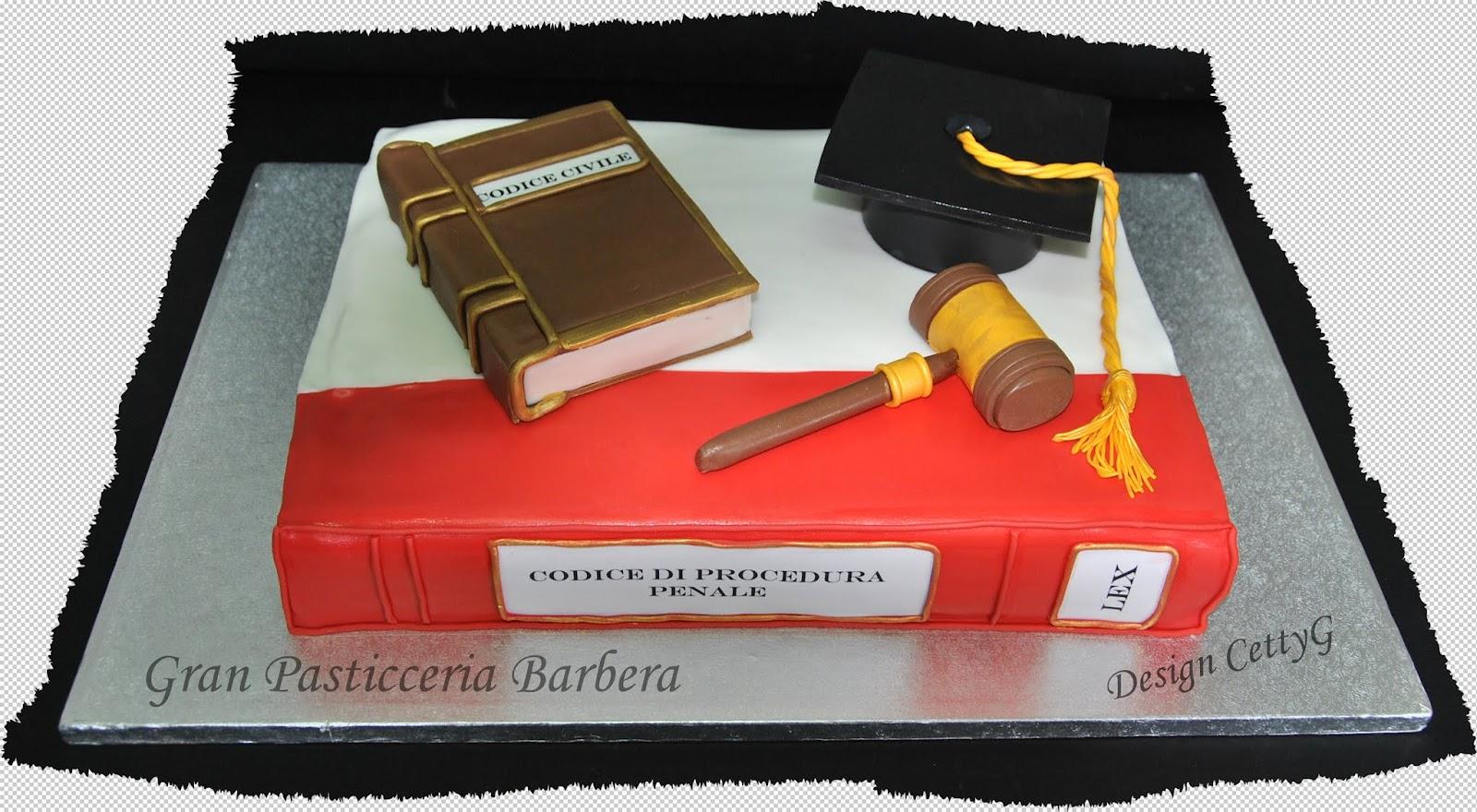 Decorazioni Sala Laurea : Le torte decorate di cetty g laurea in giurisprudenza