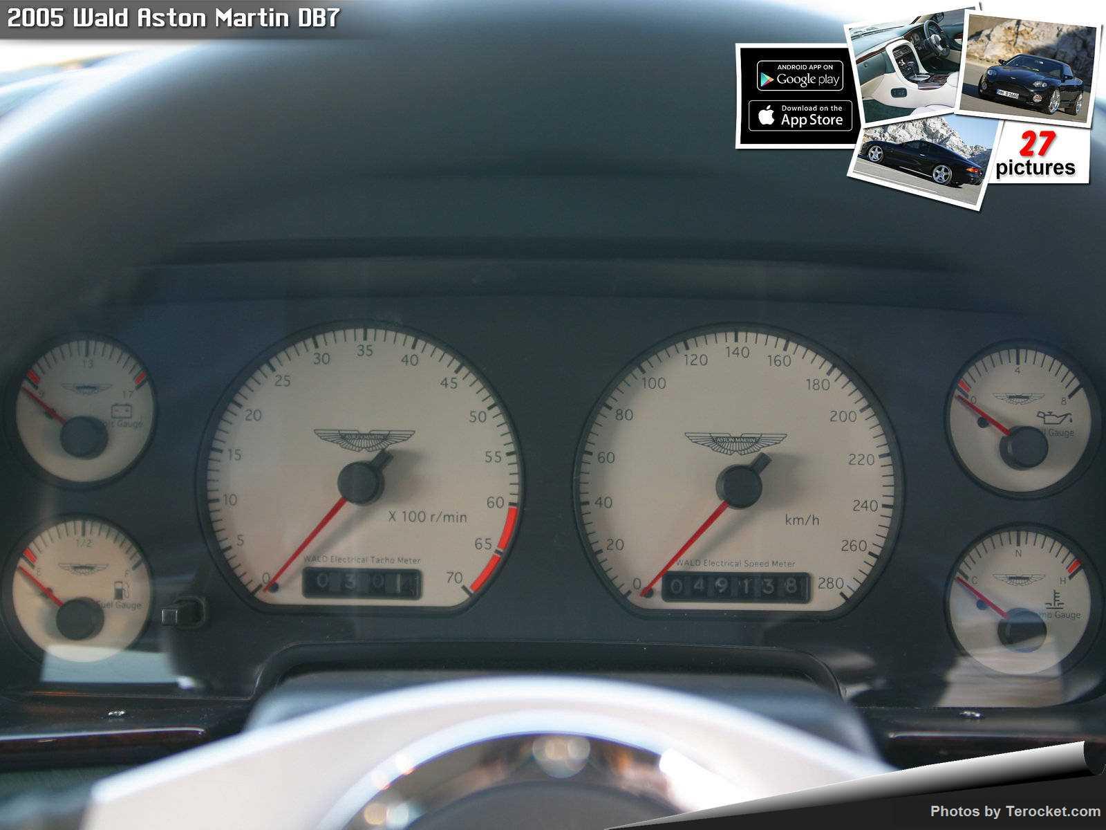Hình ảnh xe độ Wald Aston Martin DB7 2005 & nội ngoại thất