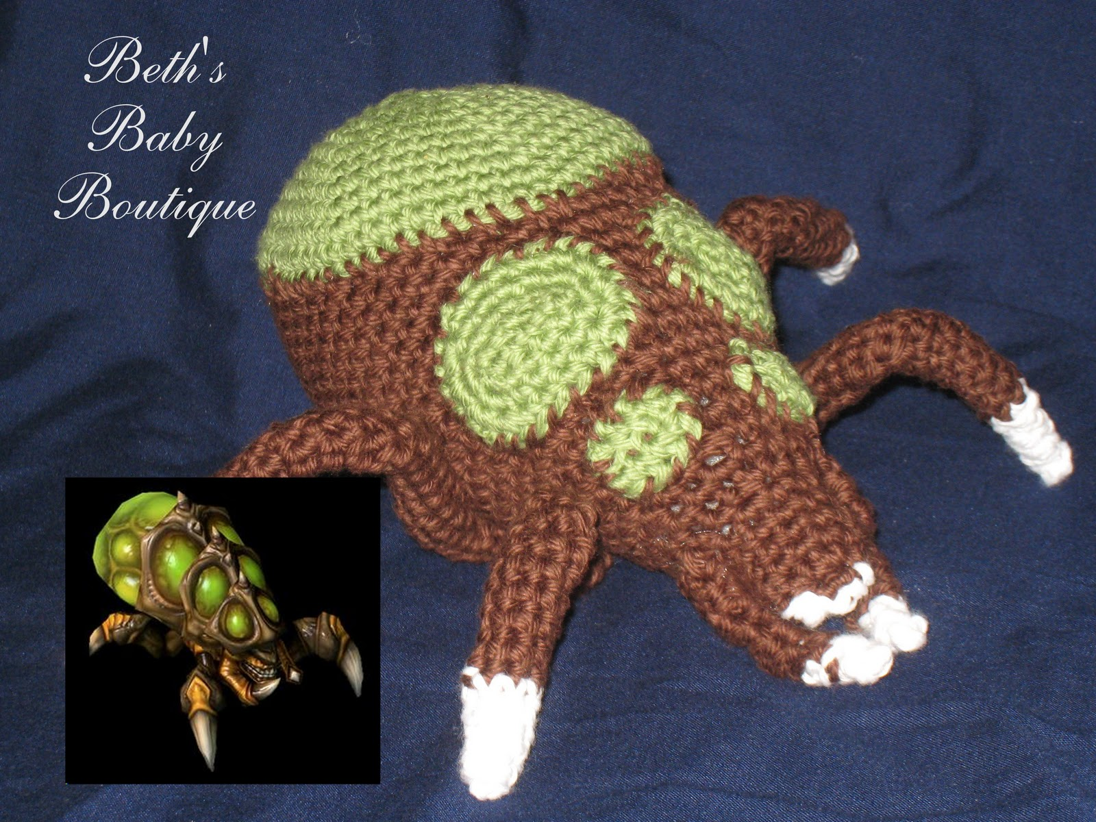 Amigurumi Starcraft : Beths Baby Boutique: January 2012