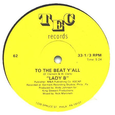 Lady B - To The Beat Y'all [VLS] (1979)[INFO]