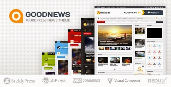 Goodnews  Responsive WordPress News/Magazine