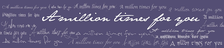 A million times for you