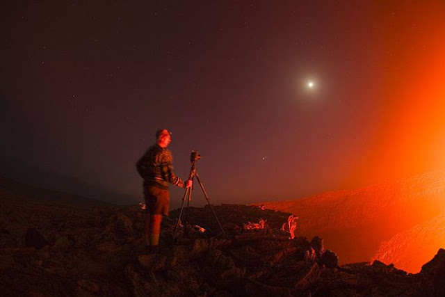 The Lava Lake of Erta Ale Volcano, Ethiopia