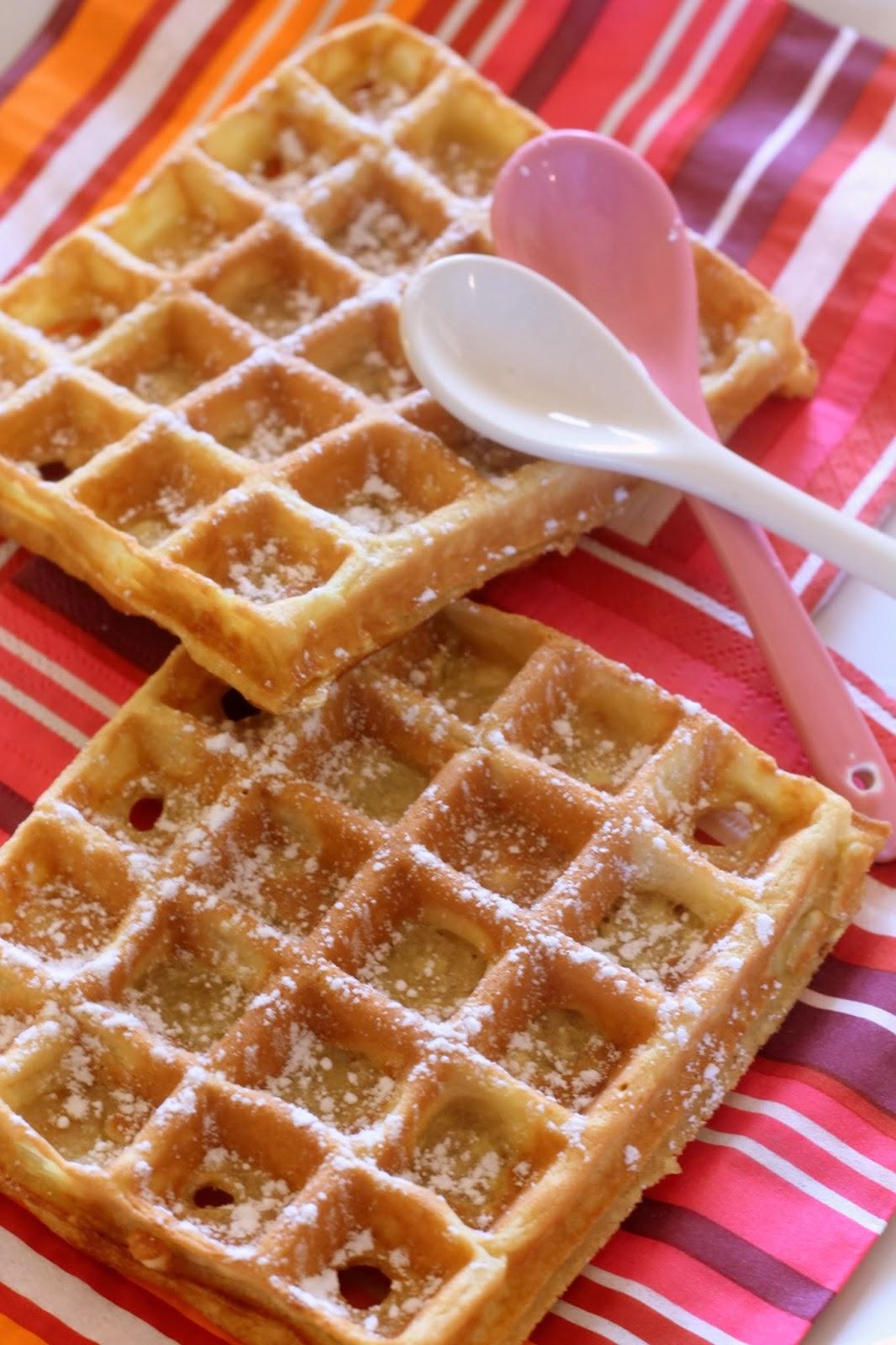 Flo bidouille en cuisine les gaufres de cyril lignac - Pate a gaufre cyril lignac ...