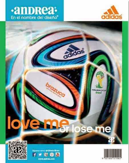 Mundial 2014 catalogo andrea adidas