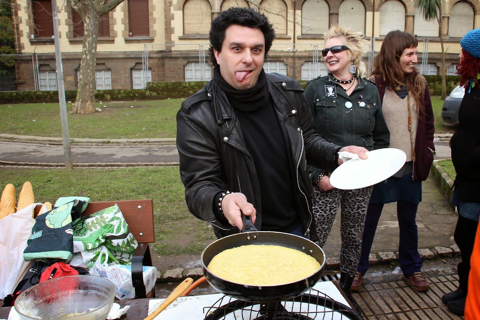 Basterra gana el concurso de tortilla en San Vicente