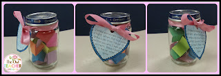 love jars are the perfect craft for valentine's day or mother's day and it's free!