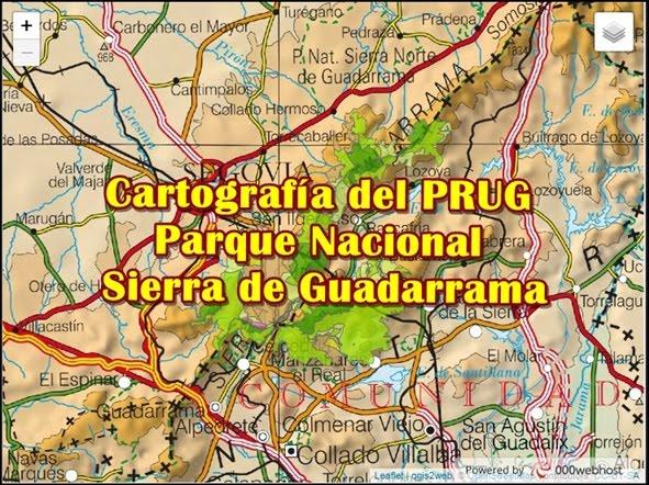 Cartografía del PRUG