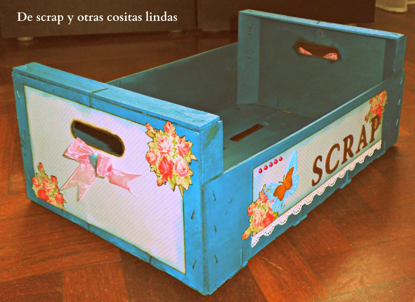 De scrap y otras cositas lindas aniversario ideas para - Cajas de madera de fruta gratis ...