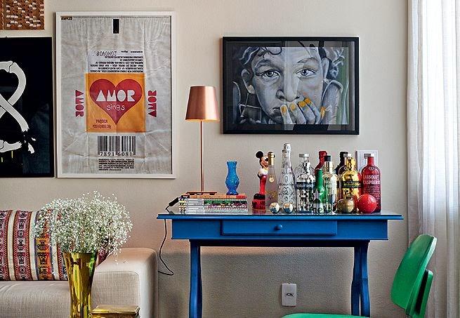 Decora o aparador bar jeito de casa blog de for Bar de madera para sala