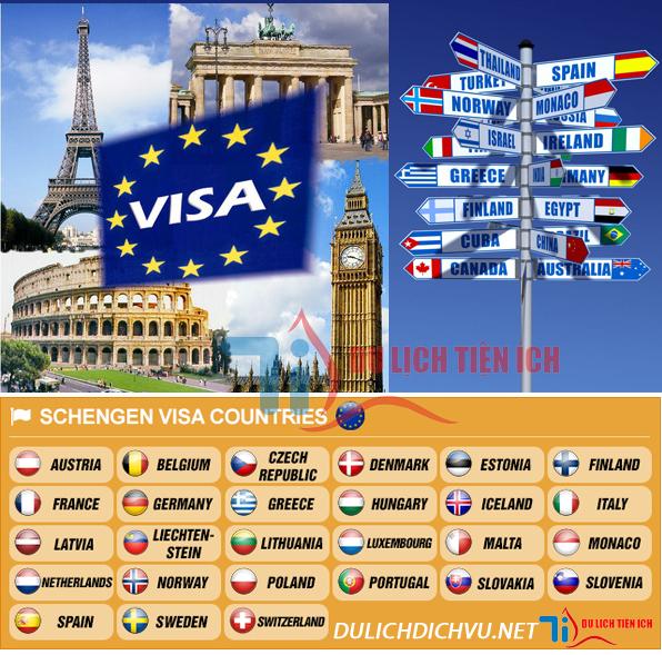 Dịch vụ làm Visa Schengen nhanh giá rẻ