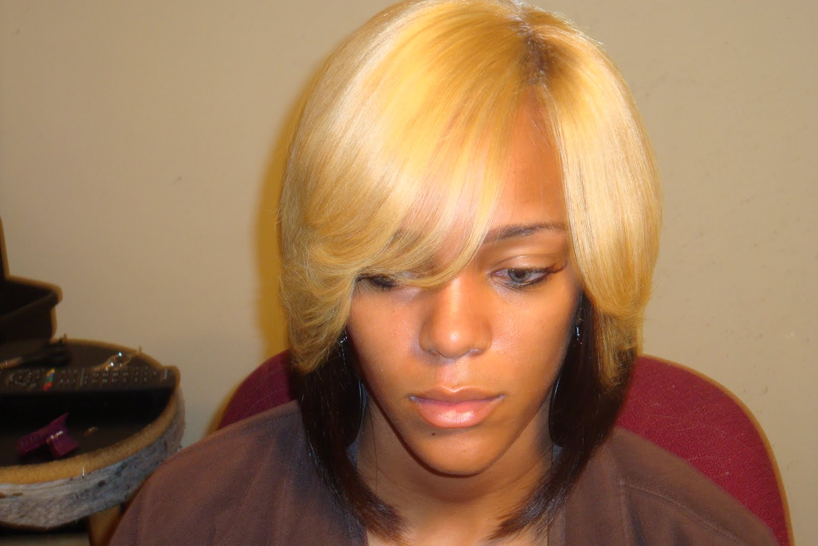 Long Bob Haircuts With Bangs And Layers