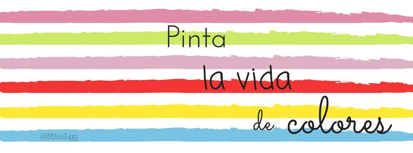 portada de facebook / facebook cover - pinta la vida de colores
