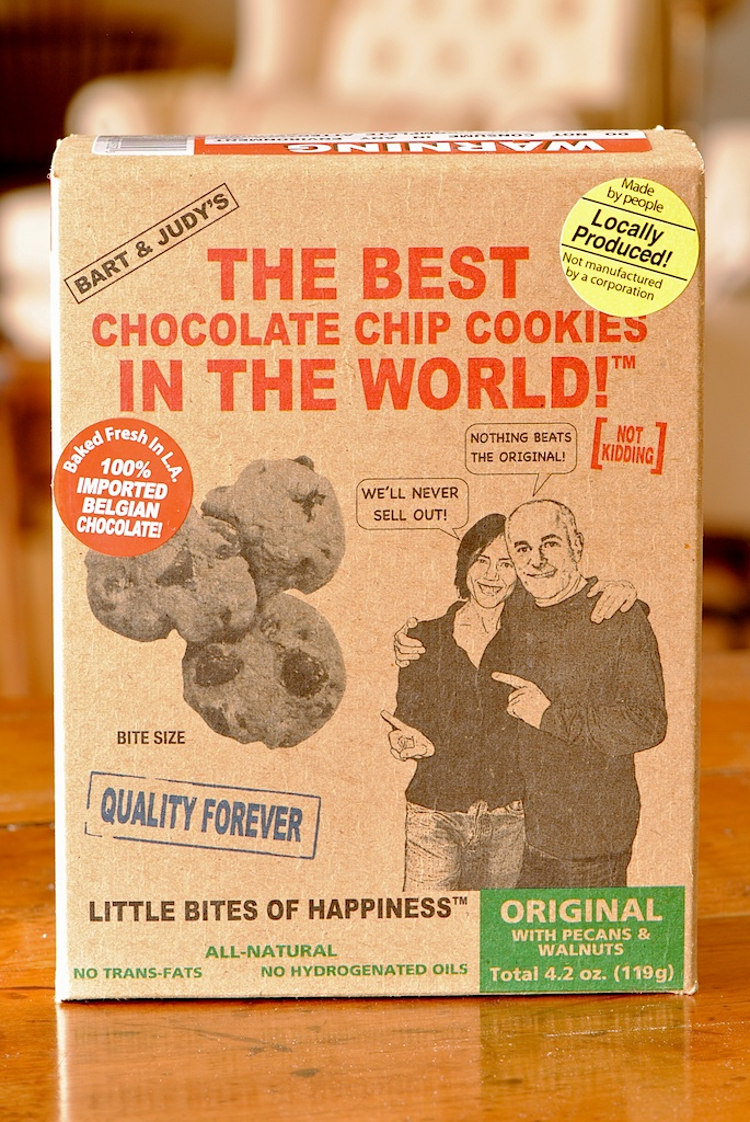 "JULES FOOD...: Cookie review-BART & JUDY'S ""The Best ..."