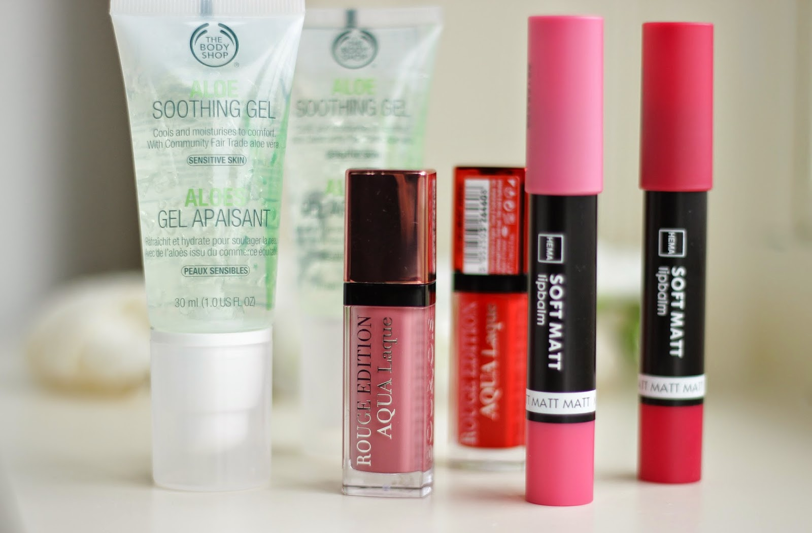 beauty shoplog bourjois hema the body shop