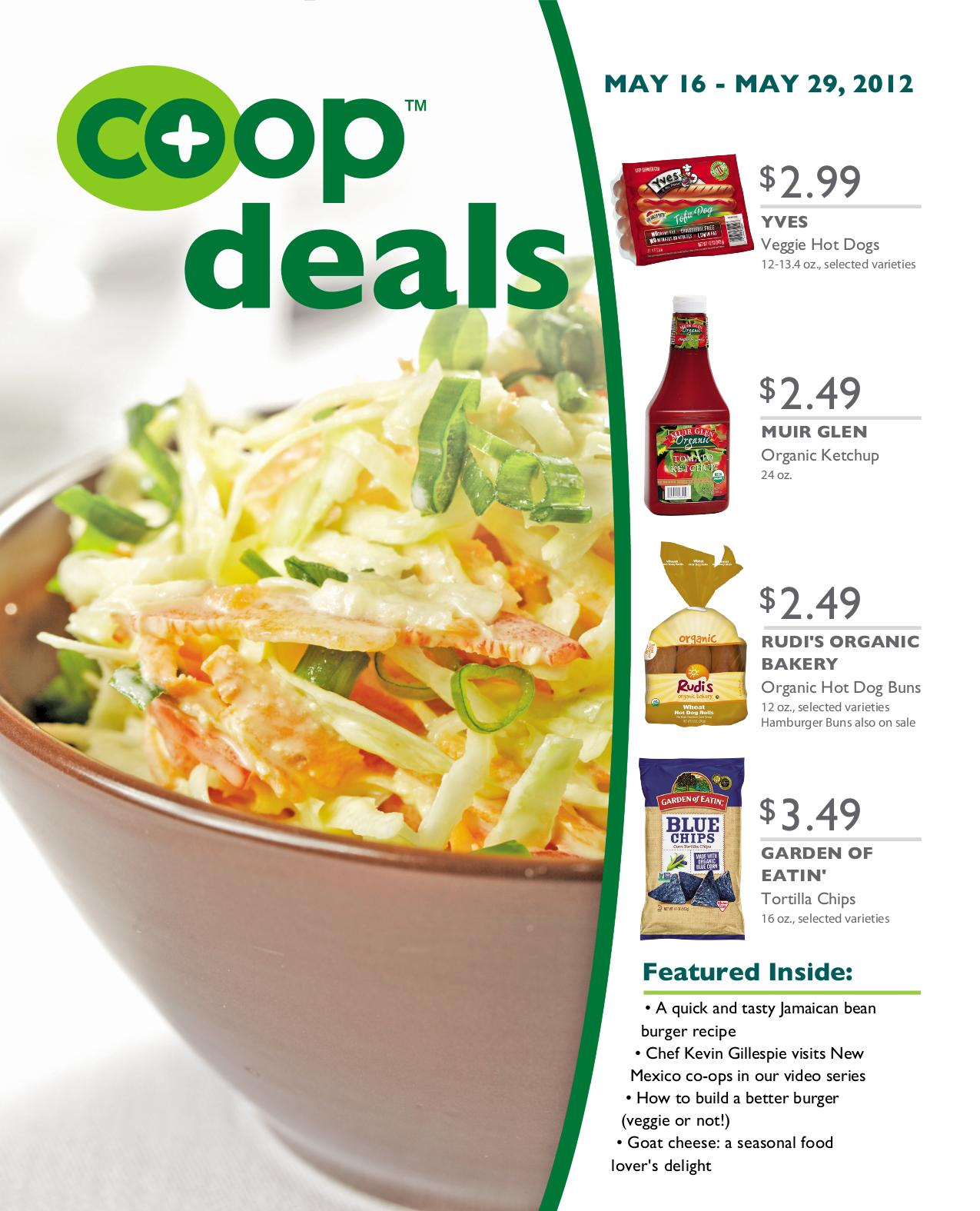 Isla Vista Food Co Op Your Co Op Deals Sales Flier For May 16th 29th