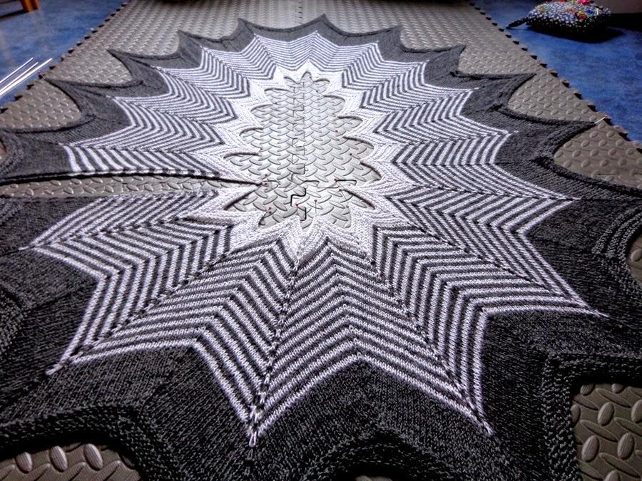 Wrapette shawl