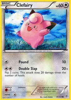 Clefairy Plasma Storm Pokemon Card