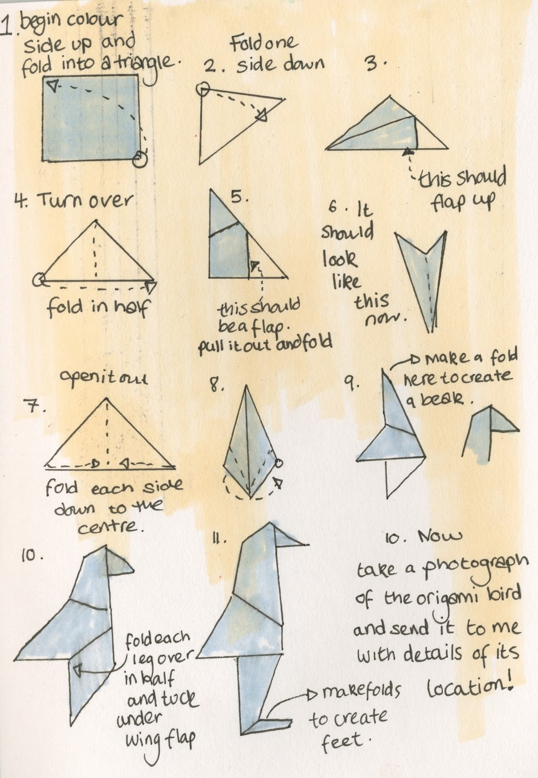 Origami Instructions OrigamiSensei Twitter