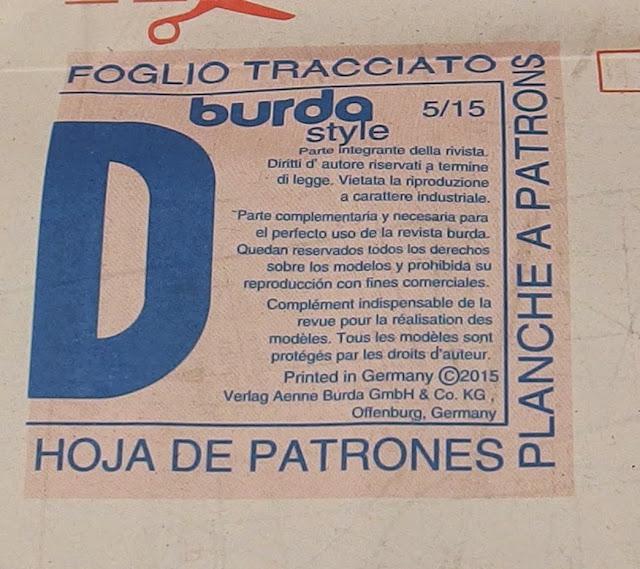 COSE CON NOSOTRAS: VESTIDO BEBE BURDA ABRIL 2015. PASO A PASO!!! PRIMERA PARTE