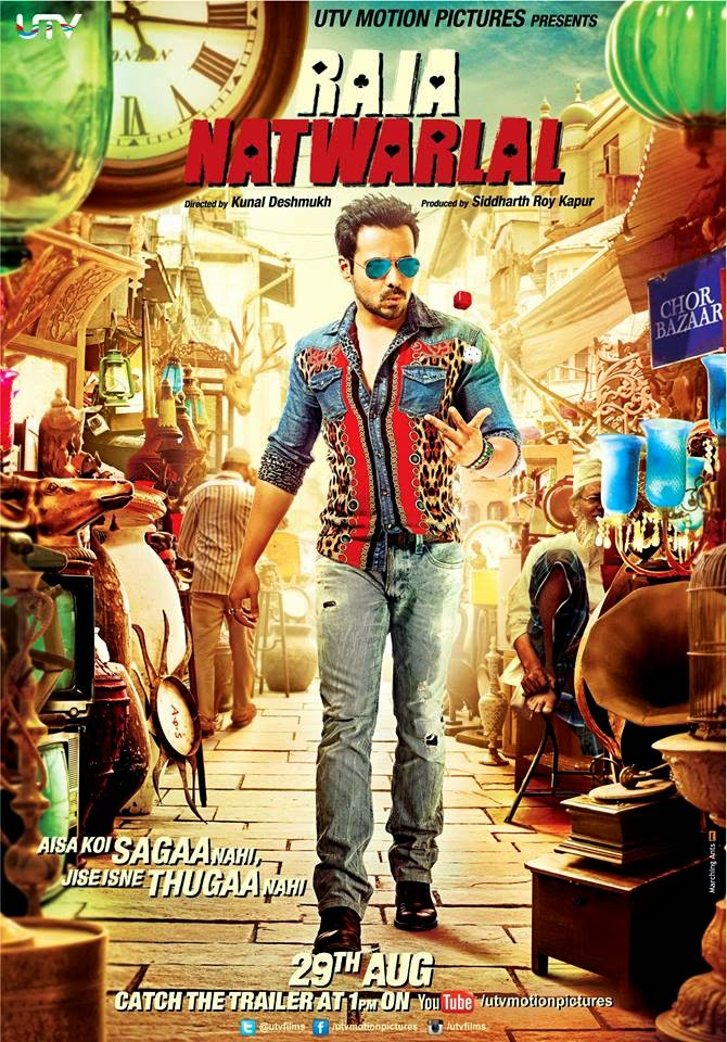 Watch Raja Natwarlal (2014) Hindi Non Retail DVDRip Full Movie Watch Online Free Download