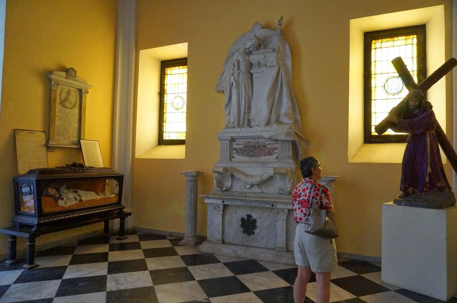 Juan Ponce de Leon, Cathedral of San Juan, Puerto Rico