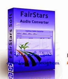 تحميل برنامج FairStars Audio Converter Pro 1.70