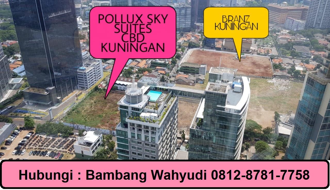 POLLUX SKY SUITES CBD MEGA KUNINGAN JAKARTA SELATAN